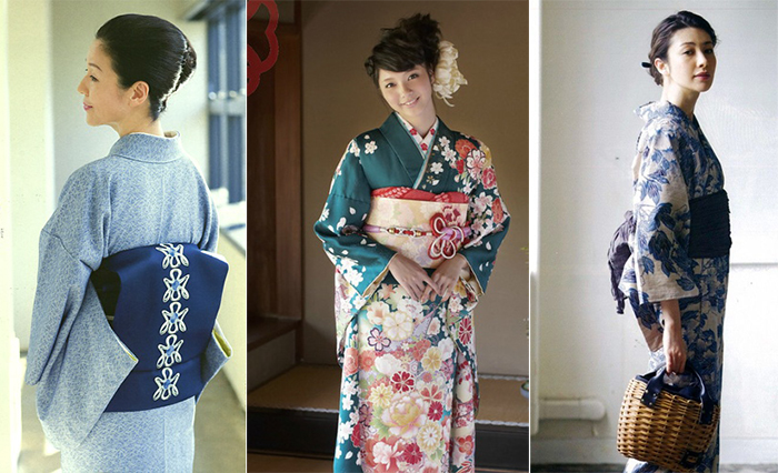 Одевать традиционное кимоно – нелегкое дело, весь наряд состоит примерно из 12 составных частей, поэтому часто для этого вызывают специалиста - отокоси