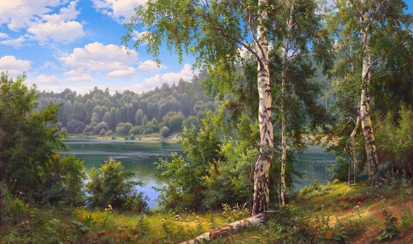 Работы художника Игоря Прищепы. (35 фото)