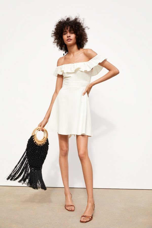 Модные летние платья с воланами 2020 стиль,мода,Мода и стиль
