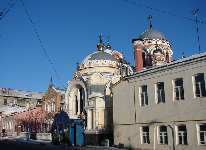 Часовня в память Александра II