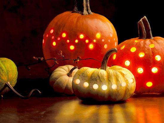 Украшение для дома на Хэллоуина своими руками