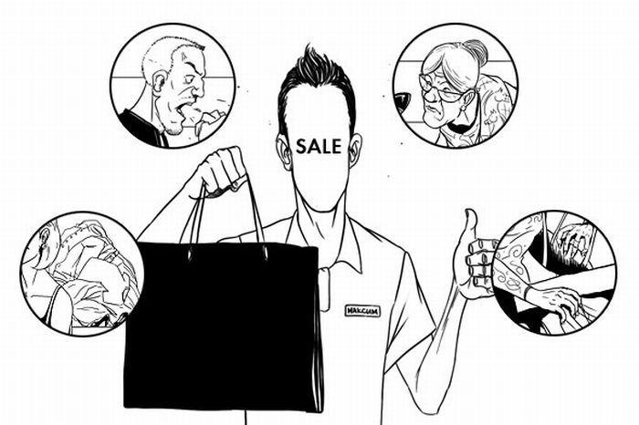 Как всё устроено: жизнь магазина глазами продавца (10 фото)