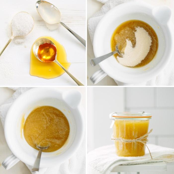 Скраб для тела из меда - пошаговый рецепт с фото
