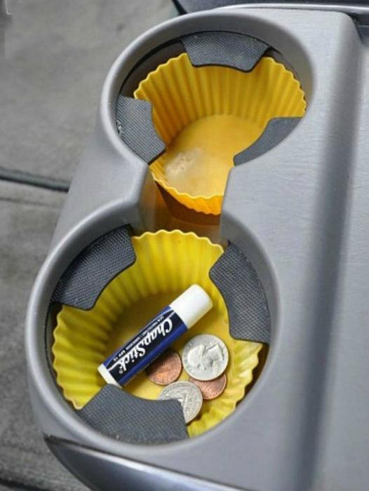 Защита подстаканников от загрязнений.