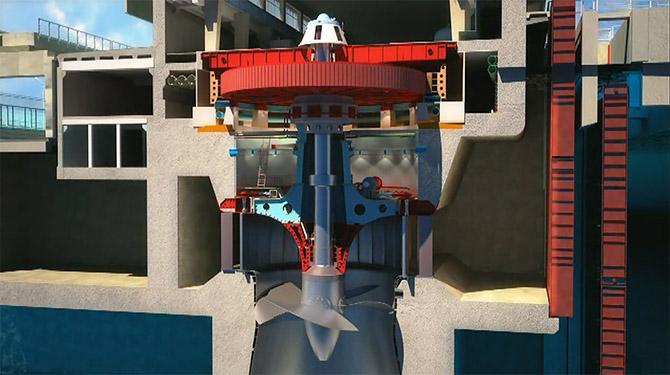 Как устроена Саратовская ГЭС