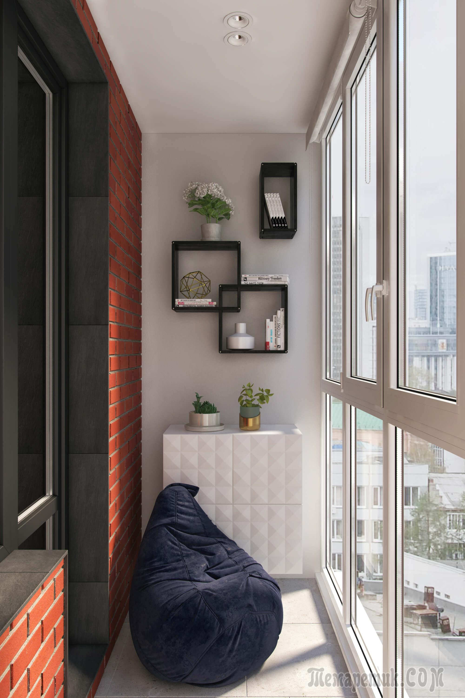 Французский балкон - 40 фото современного оформления.