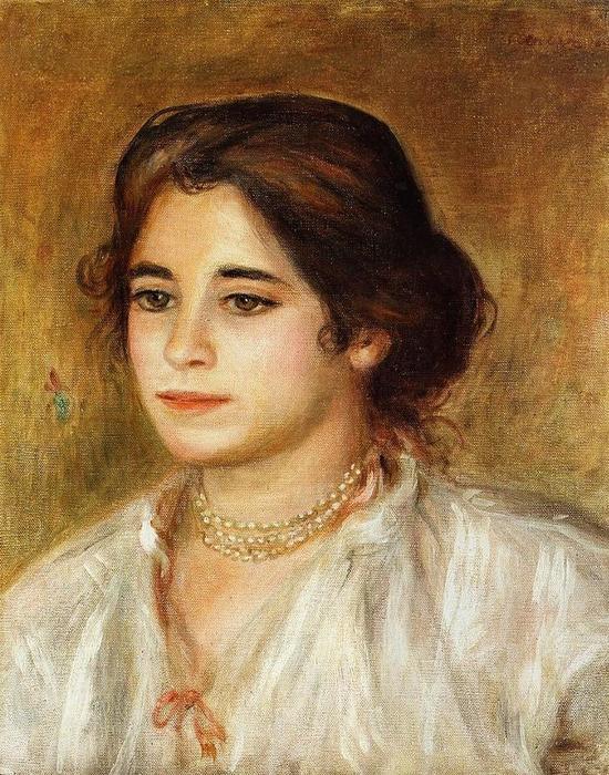 29 Габриэль с ожерельем, 1906 (550x700, 99Kb)
