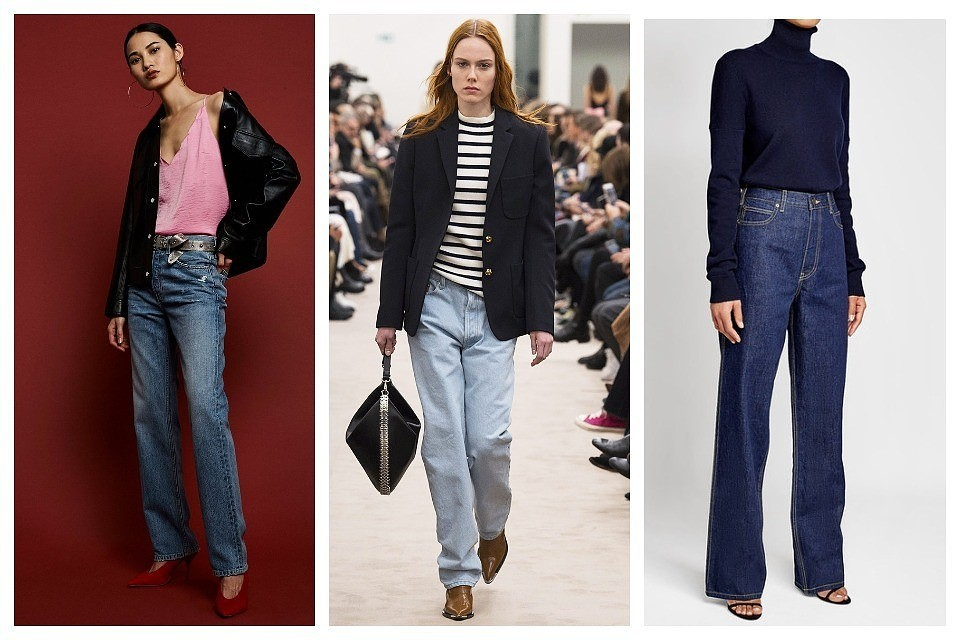 Модные джинсы осень-зима 2018-2019  6 главных тенденций 03f070f534d