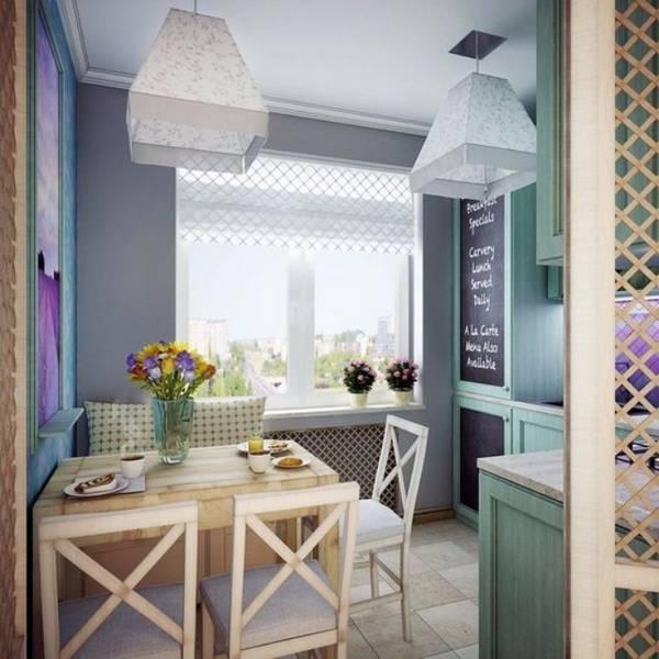 дизайн маленькой кухни, фото 14