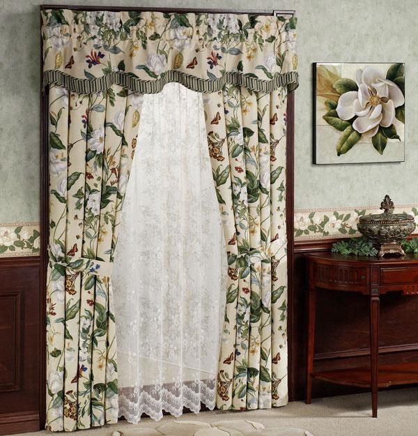 Идеи штор для спальни