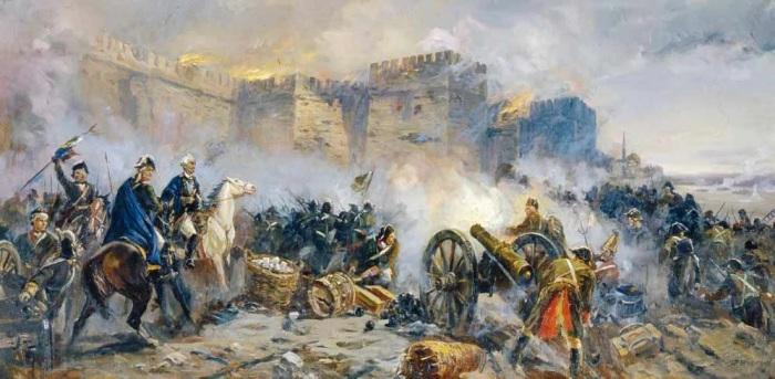 Отличившись в боях с турками, Суворов одержал над ними и дипломатическую победу. /Фото: avatars.mds.yandex.net