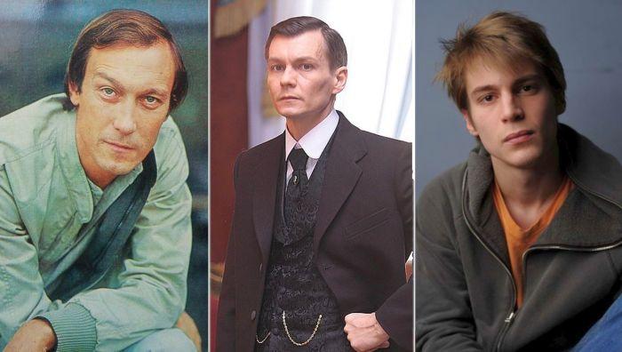 Олег, Филипп и Иван Янковские.