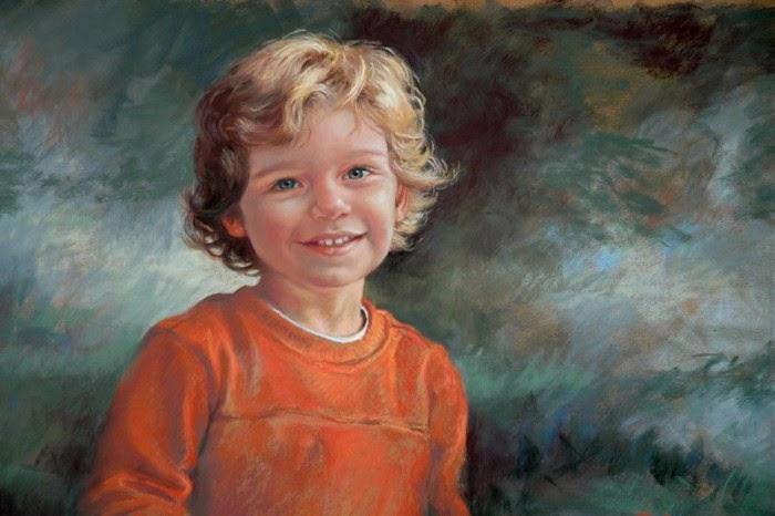 Маленький Люк. Автор: Christine Swann.