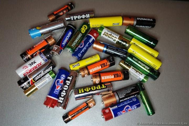 тест, батарейка