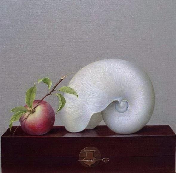 The Nautilus & The Peach (590x580, 66Kb)