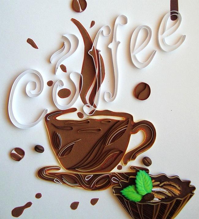 Любимая многими тема кофе