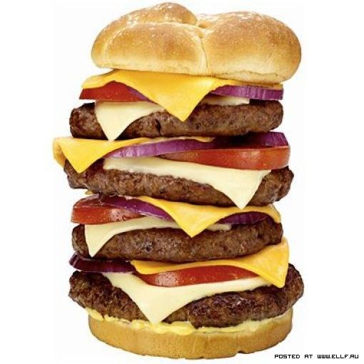 Самая вредная еда в мире (50 фото)