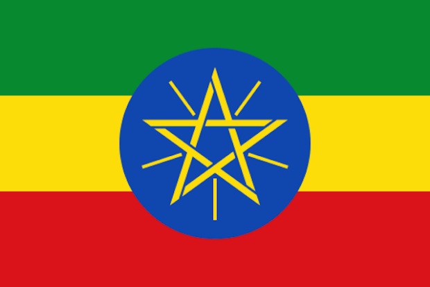 Эфиопский флаг