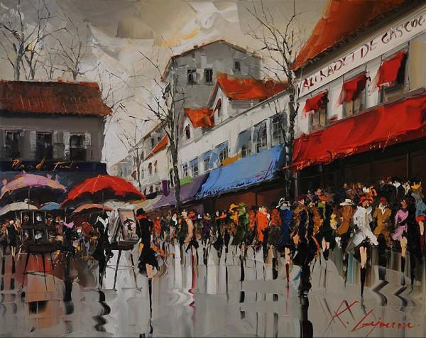 картина художник kal gajoum-10