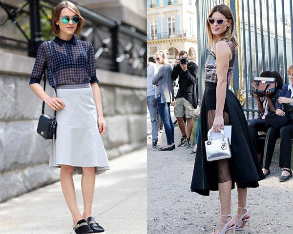 Уличная мода весна-лето 2015: Полупрозрачность
