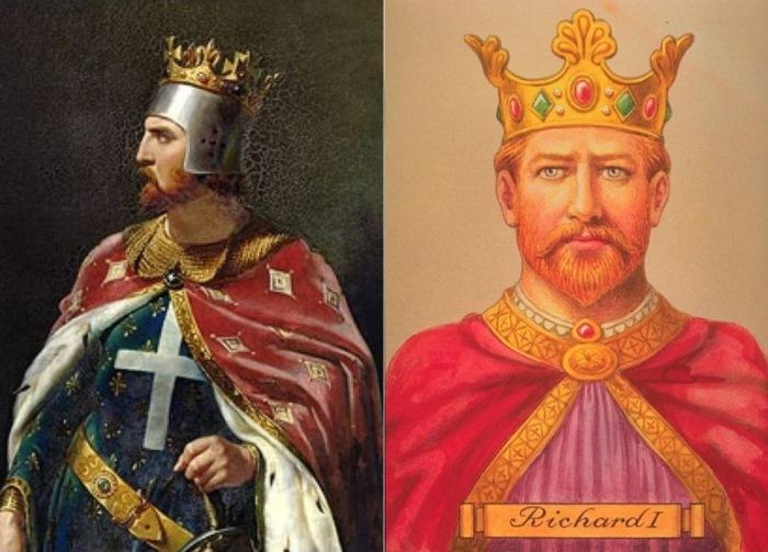 Английский король Ричард I Львиное Сердце.   Фото: mtdata.ru.
