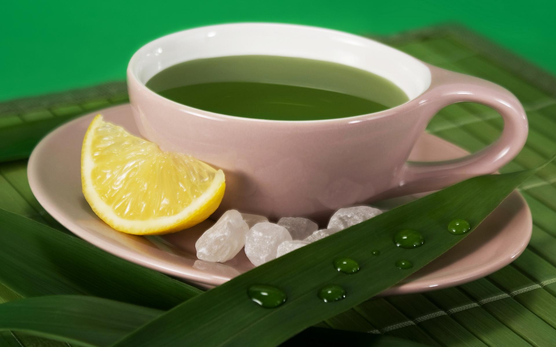 Зеленая чашка чаю картинка