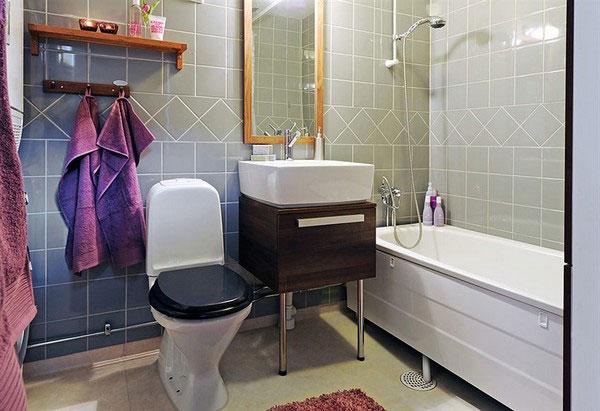 Стиралка ванная комната фото