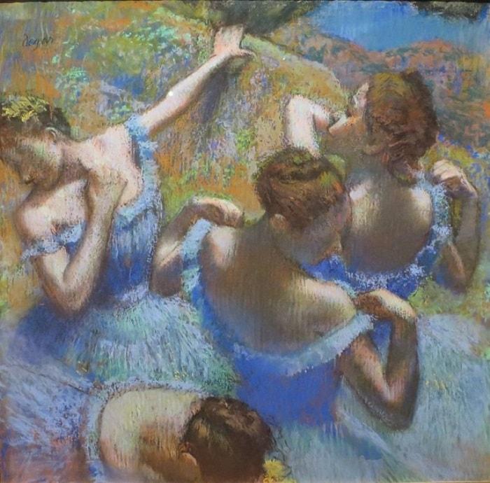 Эдгар Дега. Голубые танцовщицы, 1897 | Фото: art-assorty.ru
