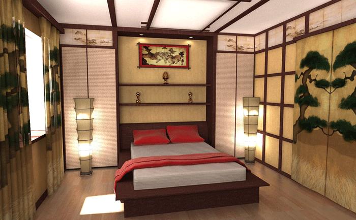 Рисовая бумага как элемент декора в японском интерьере