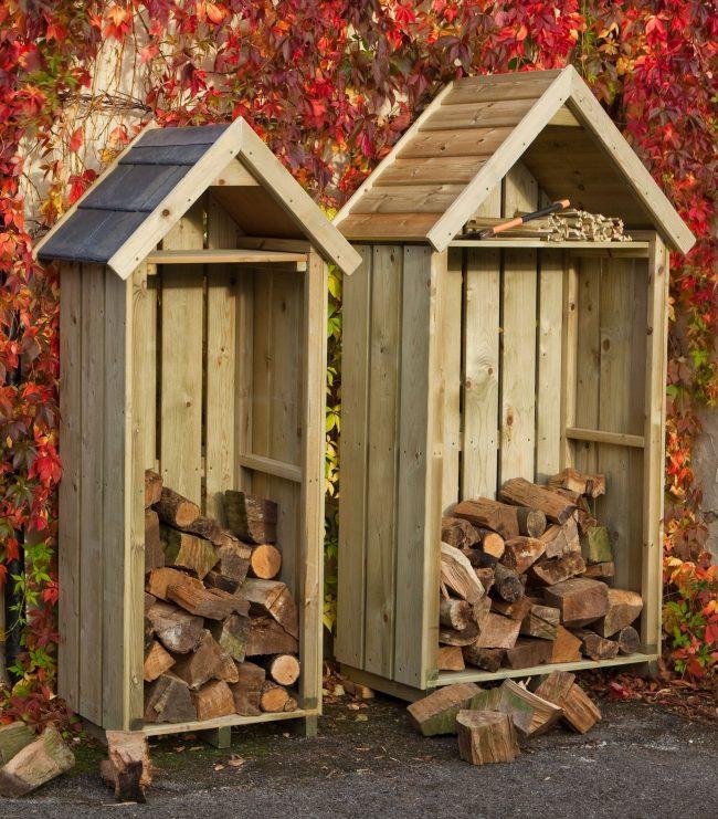 Поленница для дров в вашем дворе несмотря на свою простоту и незамысловатость может стать главным элементом декора