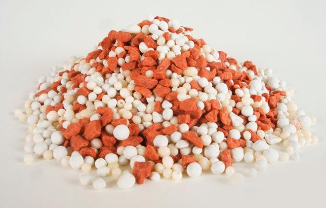 азотно-калийно-фосфорное удобрение