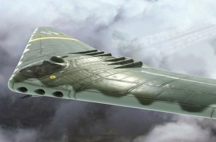 «Летающее крыло» – уникальный реактивный деревянный самолет Третьего Рейха, который мог изменить ход войны Армия и флот