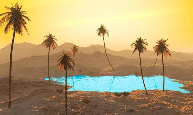Мираж в Пустыне, Интересные факты о Пустыне