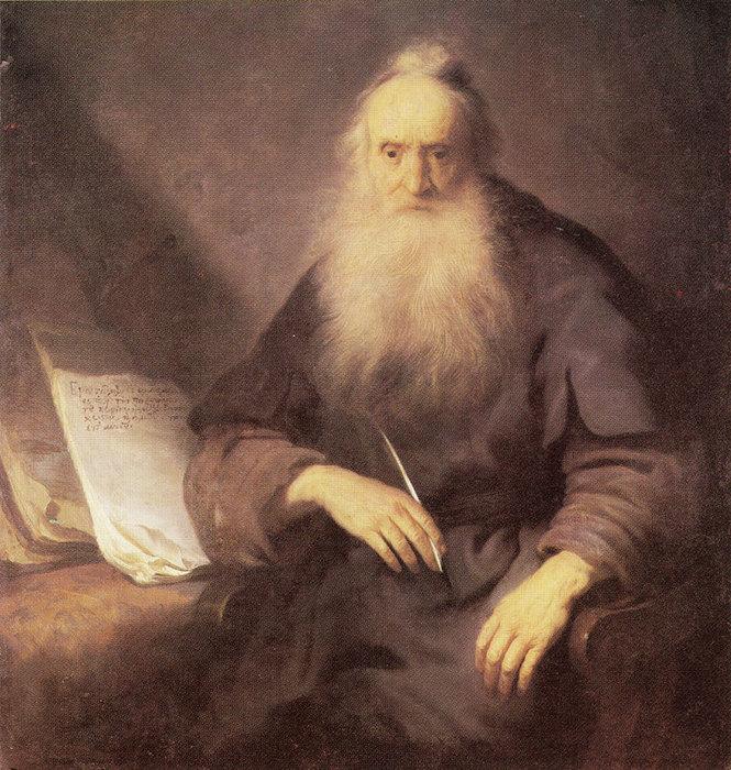 18 Святой Павел, пишущий послание фессалоникийцам, 1629 (665x700, 157Kb)