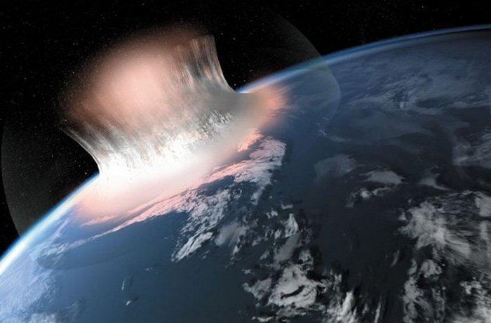 Ударный кратер в Генландии - загадка для учёных.