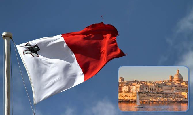 Жители Мальта , флаг Мальты, Интересные факты о Странах Мира