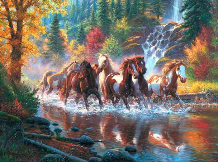 лошади художник Bonnie Marris - 04