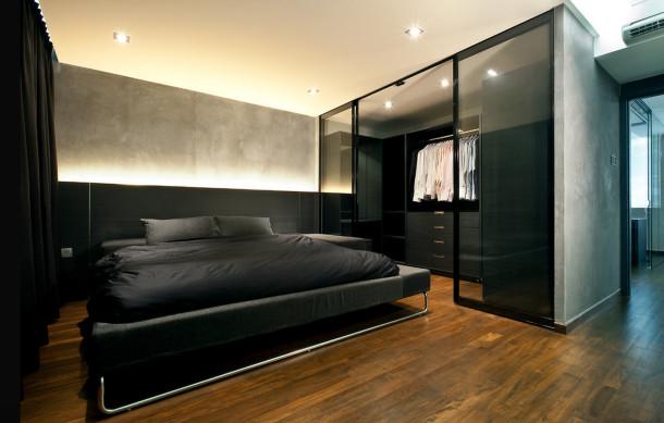 гардеробная спальня 6