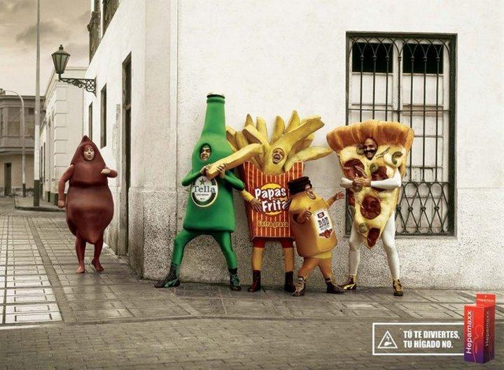 Смешная картинка о рекламе