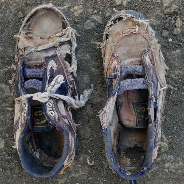 Дырявая обувь в качестве подарка
