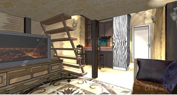 маленькие квартиры студии фото
