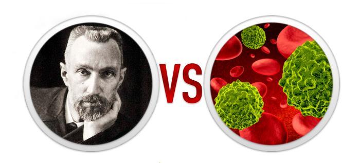 7. Радиоактивный компресс: Пьер Кюри против рака
