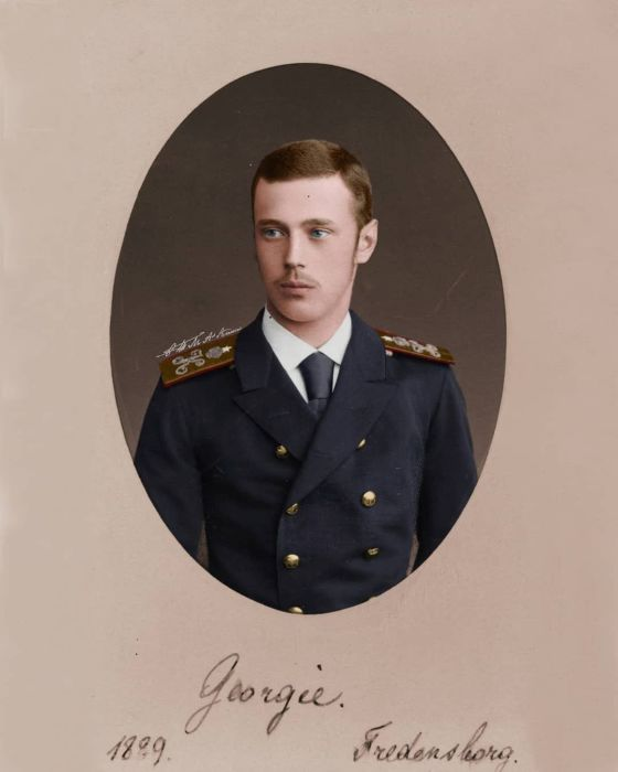 Великий князь Георгий Александрович. /Фото: i.pinimg.com