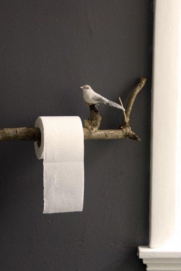 держатель для туалетной бумаги своими руками фото