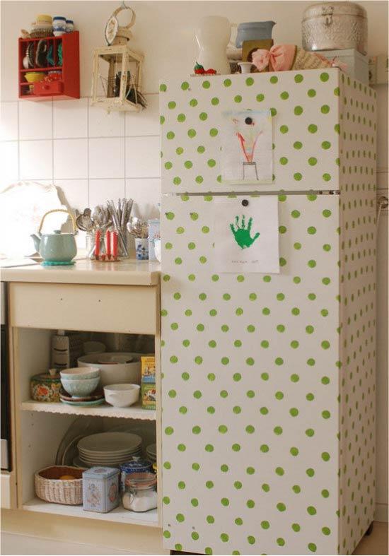Идея простой росписи холодильника