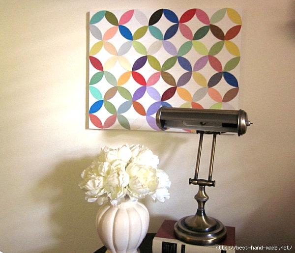 DIY-paint-chip-wall-art (600x515, 170Kb)