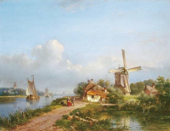 художник Лодевейк Йоханнес Клейн (Lodewijk Johannes Kleijn) картины – 15