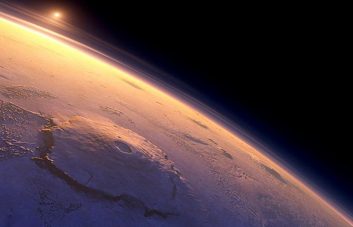 Красиво и интересно: вулкан Олимп.