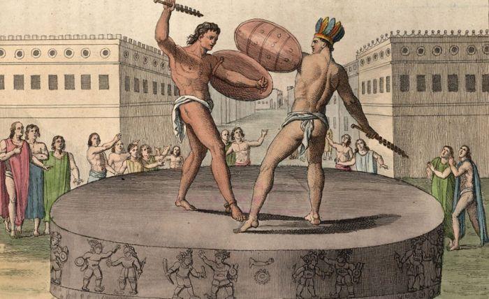 Стиль боя В каждой из элитных школ подготавливали по-своему. Студентам приходилось проходить тщательный медосмотр еще на уровне приема, а затем постоянно доказывать свою ценность для школы. Некоторые преподаватели делали ставку на определенной стилистике боя: Ludus Gallicus прививали ученикам боевые стили покоренных народов Галлии, в Ludus Dacicus предпочитали боевое искусство Дакии.