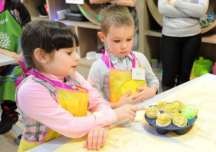 45 Учим детей готовить